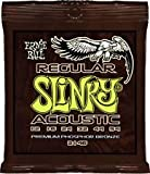 Ernie Ball Regular Slinky acoustic guitar strings 12-54 (2 PACKS)