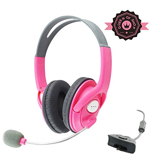 Xb890Xbox Pink Amplified Stereo Sound Beach Ear Force Universal Elite Gaming Headset For Xbox 360
