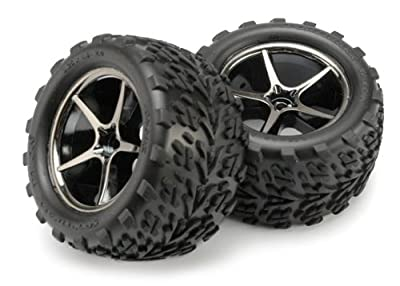 Traxxas 7174A Talon Tires Assembled on Gemini Wheels