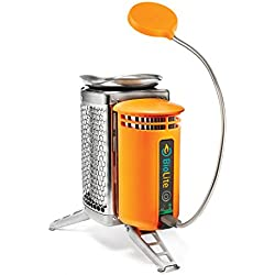 BioLite Camping Kocher Camp Stove und Flex Light, 006-6001110