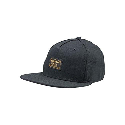 Burton Hudson-Cappellino con visiera da uomo, colore: nero