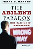 img - for The Abilene Paradox and Other Meditations on Management 1st (first) by Harvey, Jerry B. (1996) Paperback book / textbook / text book
