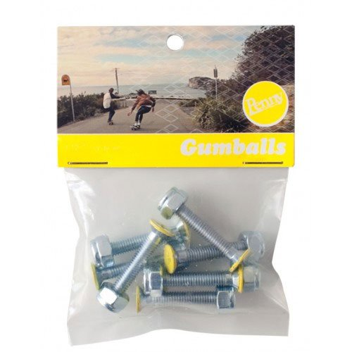 Penny Gumball 1.125 Phillips Yellow Hardware - Single Set penny подшипники penny abec7 bearings tin