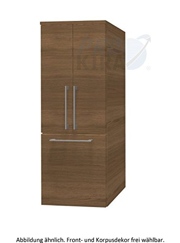 Pelipal Sonic Midi Cupboard Bathroom Furniture (Si-md 03)/Comfort N/45 x 122 x 33 cm