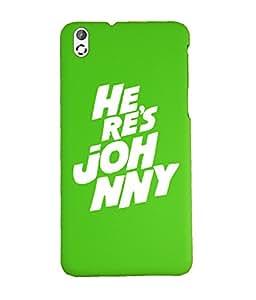 KolorEdge Back Cover For HTC Desire 816 - Green (1033-Ke15164HTC816Green3D)
