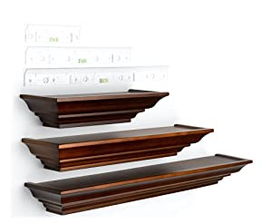 3 piece Ledge Set, Walnut