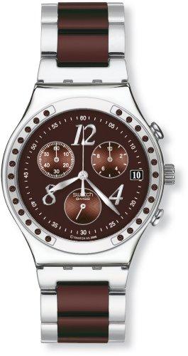 スウォッチ (swatch) 腕時計 IRONY CHRONO DREAMBROWN YCS526G 2010 Preview Collection メンズ [正規輸入品]