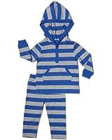 "Leveret Unisex-child ""Striped"" Hooded Set (2 Piece)"