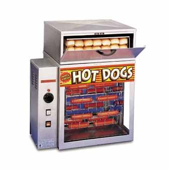 APW Wyott 20 Inch Mr. Frank Hot Dog Broiler and Bun Warmer (DR-2A)