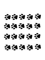 Ambiance Sticker Vinilo Decorativo Cat Footprintss