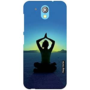Design Worlds HTC Desire 526G Plus Back Cover - Yoga Designer Case and Covers