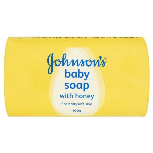 Johnson'S Baby Soap (4X100G) back-1015575