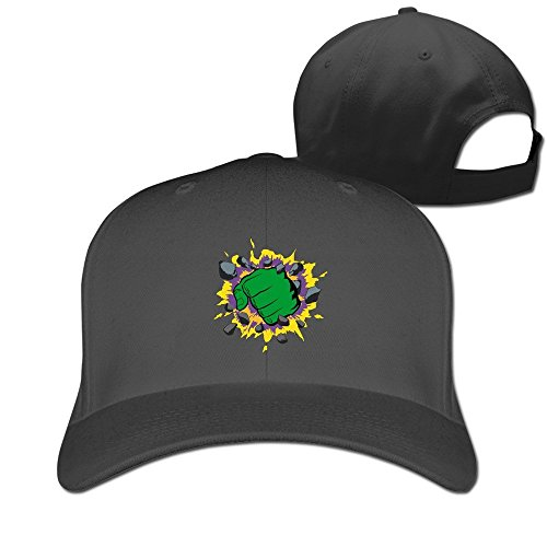 fashion-adult-the-fist-of-green-giant-travel-cap-hats-ash-black