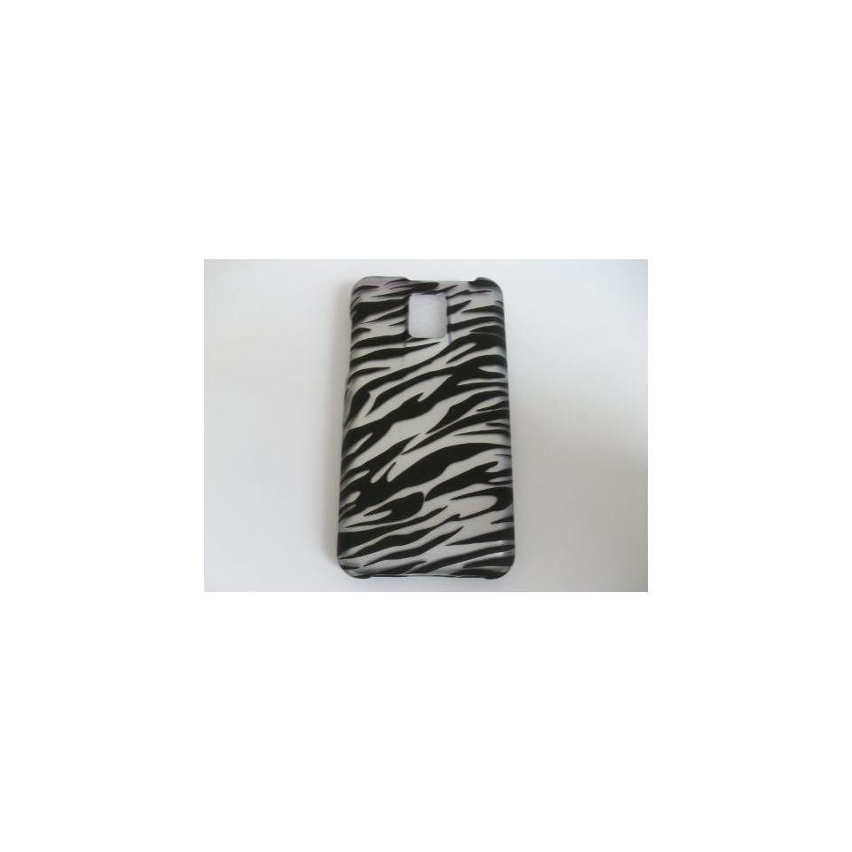 LG G2X/P999 Black Zebra stripe White Hard Phone Case Protector Cover New