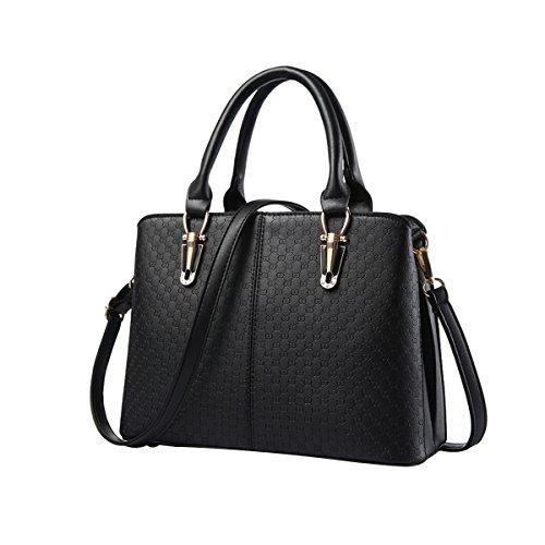 emotionlin-frauen-damen-handtaschen-faux-designer-shopper-schultertaschen-tote-bag-schwarz