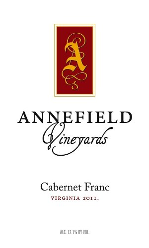 2011 Annefield Vineyards Cabernet Franc 750 Ml
