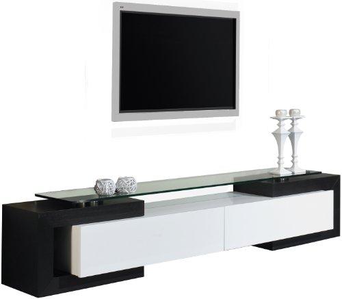 Banc tv laque blanc pas cher for Banc tv blanc pas cher