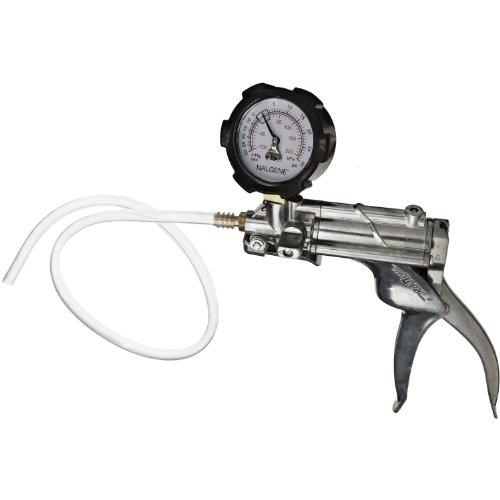 Nalgene 6132-0020 Repairable Hand Vacuum Pump With Gauge, Pvc, 36Cc/Stroke front-495849
