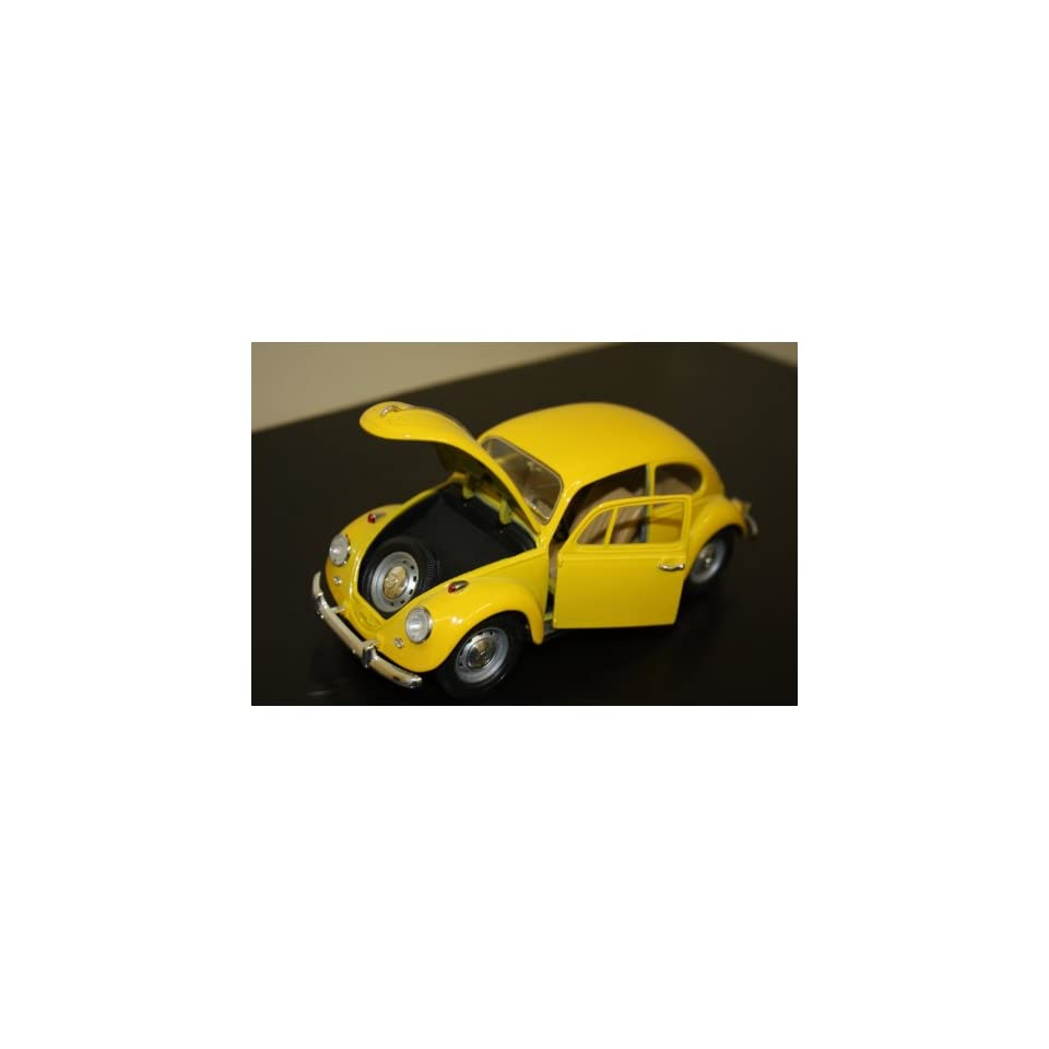 Style 1967 Yellow Metal and Plastic parts Volkswagen Beetle VW Bug