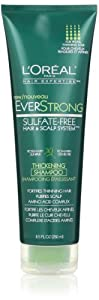 L'Oreal Paris EverStrong Thickening Shampoo, 8.5 Fluid Ounce