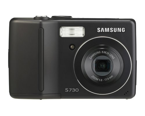 Samsung Digimax S730 7.2Mp Digital Camera With 3X Advance Shake Reduction Optical Zoom (Black)