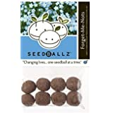SeedBallz, Forget-Me-Not, 8 Balls Per Pack. This Multi-pack Contains 2 Packs.