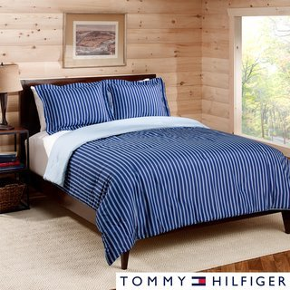 Good  read review consumer viewpoints prior to buy Tommy Hilfiger Twin and Twin XL Christopher pc Stripe Comforter Set Red Blue Tommy Hilfiger Tom