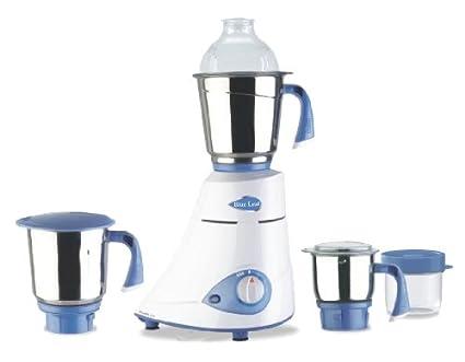 Preethi Blue Leaf Silver 600W Mixer Grinder