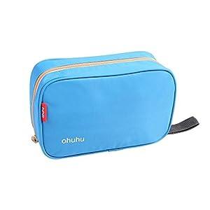 Ohuhu® étanche Voyage sac de toilette / Wash Bag/Trousse de Toilette/Trousse de Voyage, 9.2