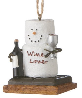 S'mores Wine Lover Ornament
