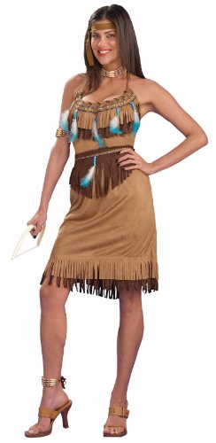 "Pow ""Wow"" Indian Princess Dress Costume Adult"