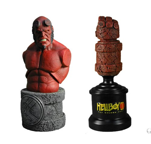 Picture of Mezco HELLBOY 2 THE GOLDEN ARMY ROTO BUST SET OF 2 Figure (B001BNNPKW) (Mezco Action Figures)