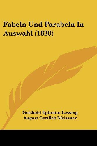 Fabeln Und Parabeln in Auswahl (1820)