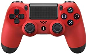Wireless Controller Dualshock 4 Magma Red (Japan Import) [Playstation 4]