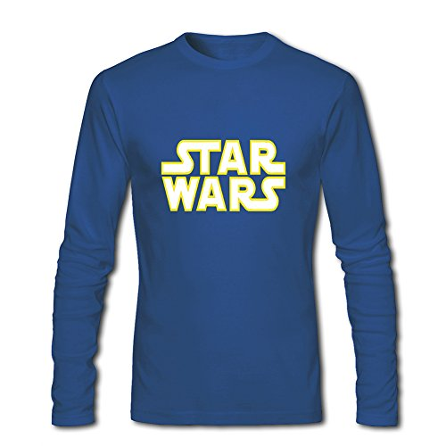 Hot Star Wars long sleeve Tops T shirts -  Maglia a manica lunga  - ragazzo Blue XL/11-12 Anni
