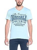 Lonsdale Camiseta Manga Corta Halstead (Azul)