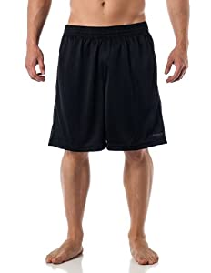 Reebok Men's Performance Gym shorts with pockets - Black L