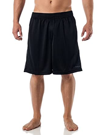 Reebok Men's Performance Gym shorts with pockets - Black S