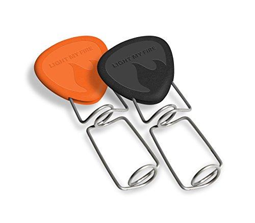 Light My Fire Grandpas FireFork Campfire Roasting Accessory, Black/Orange - Set of 2