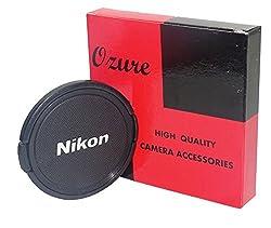 Ozure SELC-N 67 mm Lens Cap(Black + Silver Embossed, 67 mm)