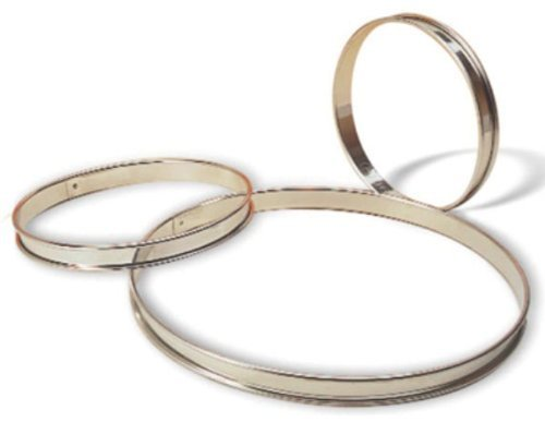 Matfer Bourgeat 371666 Tart Ring, Silver by Matfer Bourgeat