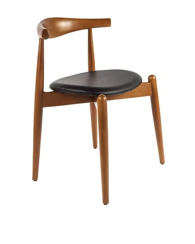 Stilnovo The Elbow Chair, Black/Wood