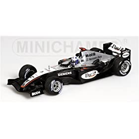 diecast car: David Coulthard McLaren Mercedes MP4-19  Diecast Model Car