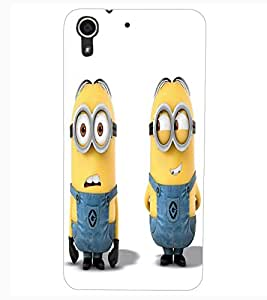 ColourCraft Cartoon Design Back Case Cover for HTC DESIRE 626
