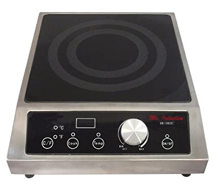 Sunpentown SR-182C 1800W Induction Cooktop