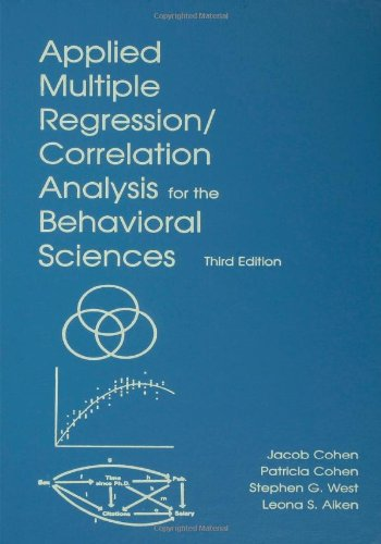 Applied Multiple Regression/Correlation Analysis for the...