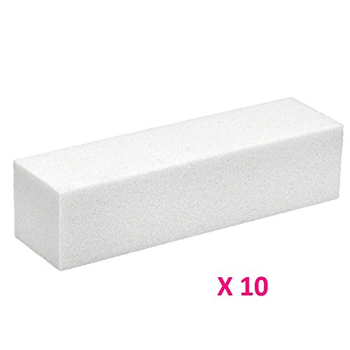 10-blocs-blancs-polissoirs-manucure-faux-ongles-gel-uv-rsine-vernis-permanent