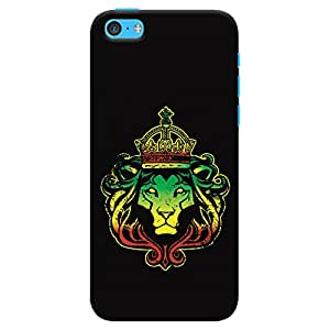 ColourCrust Apple iPhone 5C Mobile Phone Back Cover With Lion King - Durable Matte Finish Hard Plastic Slim Case