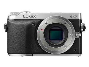 """Panasonic Lumix DMC-GX7EF-S Appareil photo hybride Ecran 3"""" (7,6 cm) 16 Mpix Boîtier nu"""