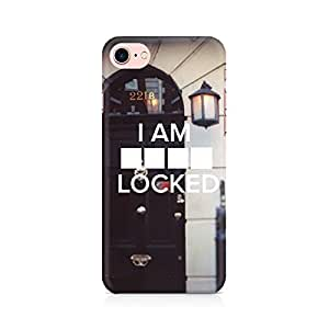 MOTIVATE BOX Sher Lock Premium Printed Mobile Back Case Cover For Apple iPhone 7